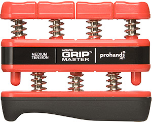 Prohands Gripmaster - Medium Tension Red