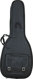 Levys LM20 Leather Acoustic Guitar Bag [LM20BLK]
