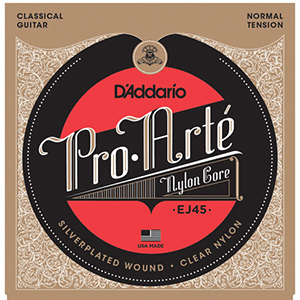 Daddario EJ45 Normal Tension Classical Strings