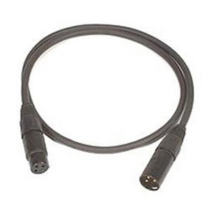 Low Z Microphone Cable with Switch - 25 Foot