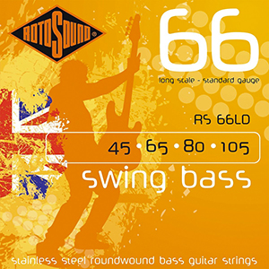 Rotosound RS66LD Swing Bass Med .45-105