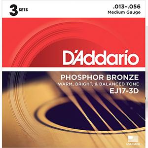 Daddario EJ17 - (3 Sets)