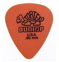 Dunlop Orange .60mm Thickness Tortex  [418160]