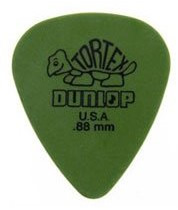 Dunlop Green .88mm Thickness Tortex (72 Picks)