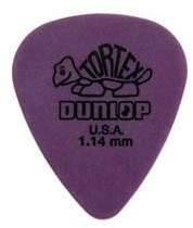 Dunlop Purple 1.14mm Thickness Tortex (72 Picks) [4181114]