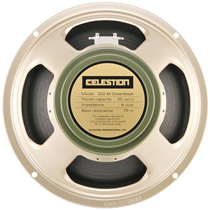 Celestion Greenback G12M  - 16 ohm
