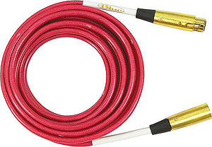 Blue Cranberry Microphone Cable