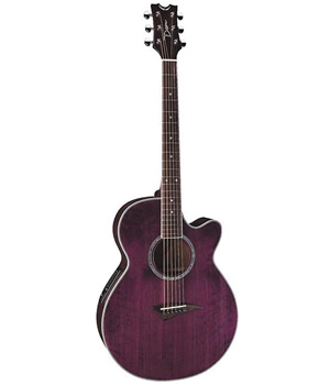 Dean Performer E in Transparent Power Purple [PE TPP]