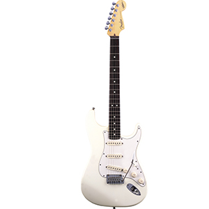 Jeff Beck Stratocaster Olympic White