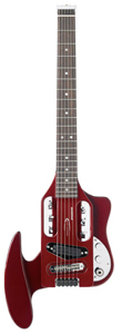 Traveler Speedster - Candy Apple Red Metallic w/Deluxe Gig Bag [SPD RED]