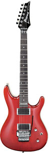 Ibanez JS100  Joe Satriani  Transparent Red  Finish [JS100TR]