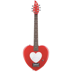 Daisy Rock Debutante Heartbreaker Short Scale - Red Hot Finish [7100]