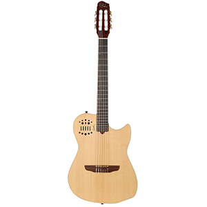 Godin MultiAc Nylon w/Synth Access - Natural Semi-Gloss []