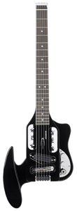 Traveler Speedster - Gloss Black w/Deluxe Gig Bag [SPD BLK]