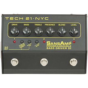 Tech21 Programmable Bass Driver DI [PBDR]