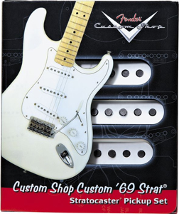 Fender Custom 69 Strat Pickup Set White