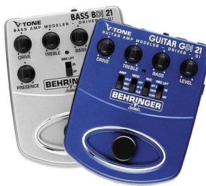 Behringer Direct Recording Pack