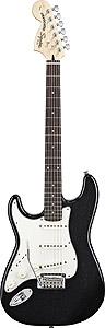 Standard Stratocaster Left Handed - Black Metallic - Rosewood