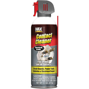 Max Professional Blow-Off Contact Cleaner