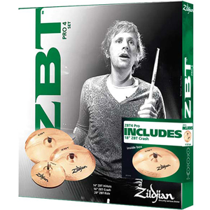 ZBTC4P-9A ZBT 4 Pro Sheet Cymbal Box Set
