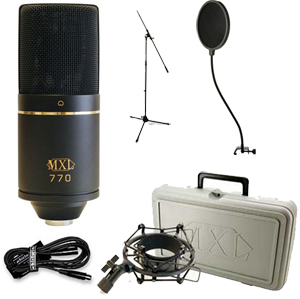 Marshall Electronics MXL770 Recording Package []