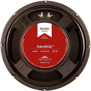 Eminence Red Coat Series Ramrod 10 Inch 8 Ohms
