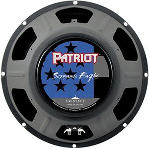 Patriot Series Screamin Eagle 12 Inch  8 Ohms
