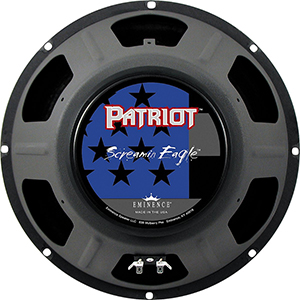 Eminence Patriot Series Screamin Eagle-12 Inch 16 Ohms