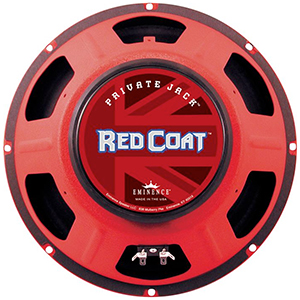 Eminence Red Coat Series Private Jack 12 Inch  16 Ohms [PRIVATE JACK-16]
