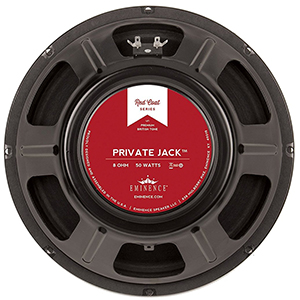 Eminence Red Coat Series Private Jack 12 Inch  8 Ohms