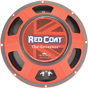 Eminence Red Coat Series The Governor 12 Inch  8 Ohms [THE GOVERNOR]
