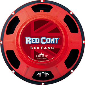 Eminence Red Coat Series Red Fang 12 Inch 16 Ohms