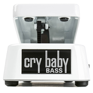 Cry Baby 105Q Bass Wah Pedal White
