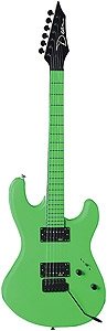 Dean Custom Zone Guitar - Florescent Green