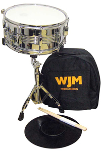 WJM Percussion Snare Drum Kit w/ Dlx Carry Bag [wjm snare KIT w/bag]