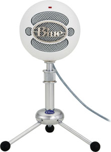 Blue Snowball - Textured White [Snowball-TW]