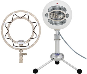 Blue Snowball & Ringer Package -Textured White []