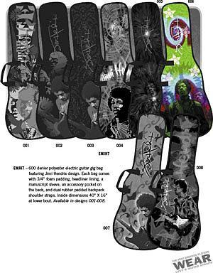 Levys Hendrix Gig Bag (EMJH7-006)
