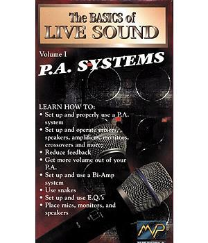 MVP The Basics of Live Sound -PA Systems Vol.1 (DVD) [MVP-974D]