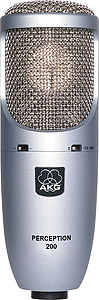 Akg Perception 200 with Shockmount and Hardshell Case [PERCEPTION200]
