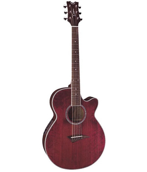 Dean Performer E - Transparent Red [PE TRD]