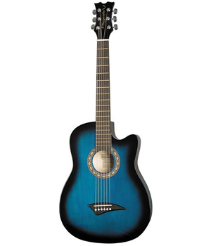 Dean Playmate J - Blue Burst Finish [PLAYJ BB]