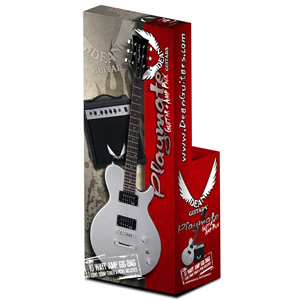 Dean Playmate EVO Guitar Package - Silver Finish [PLAYEVO MSL]