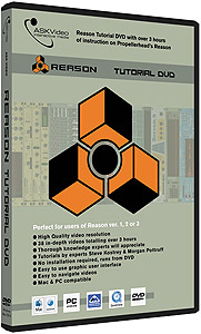 Ask Video Reason 3.0 DVD Tutorial