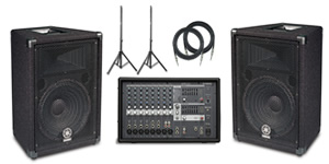 Yamaha EMX212S PA Package []