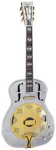 Dean Resonator Chrome/Gold Thin Body [RESCG]