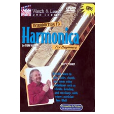 Watch And Learn Introduction to Harmonica DVD