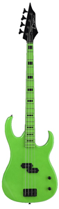 Dean Custom Zone Bass - Florescent Green