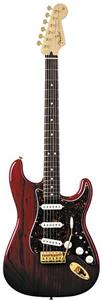 Deluxe Players Stratocaster - Crimson Red Transparent Rosewood
