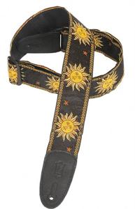 MPJG Guitar Strap Black Sun